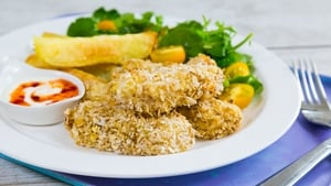 Fish Goujons with Potato Wedges