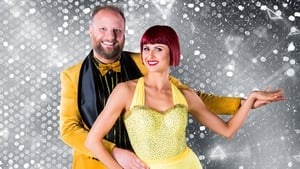 Fred Cooke and professional dance partner Giulia Dotta - Doing the Charleston this Sunday