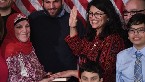 First two Muslim women sworn into US Congress