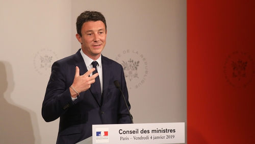 Government spokesman Benjamin Griveaux said the French government would harden their stance on the issue