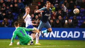 Harry Kane netted late on as a substitute