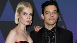 Bohemian Rhapsody stars Lucy Boynton and Rami Malek