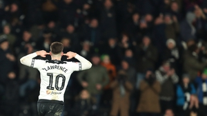 Tom Lawrence earned Derby County a second chance