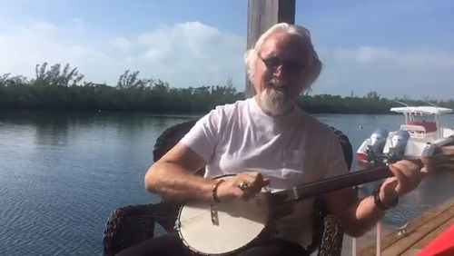 """Billy Connolly says he's """"not dying"""" in video posted to Twitter by his wife Pamela Stephenson"""