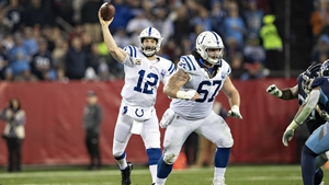 Andrew Luck has been in great form for the Colts
