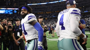 Ezekiel Elliott of the Dallas Cowboys is one of the players to have contracted Covid-19
