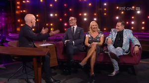 The Dancing with the Stars judging trio on The Ray D'Arcy Show