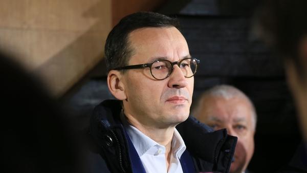 Polish Prime Minister Mateusz Morawieck