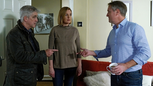 Wayne is tormented when Orla and Tommy concoct their family history on Fair City