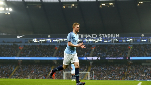 Kevin De Bruyne's Manchester City are in a proper title race this season