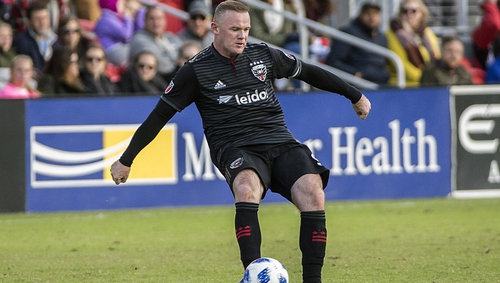 Rooney arrested for public swearing and intoxication