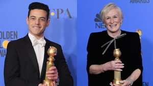 Rami Malek and Glenn Close - Honoured for their respective performances in Bohemian Rhapsody and The Wife