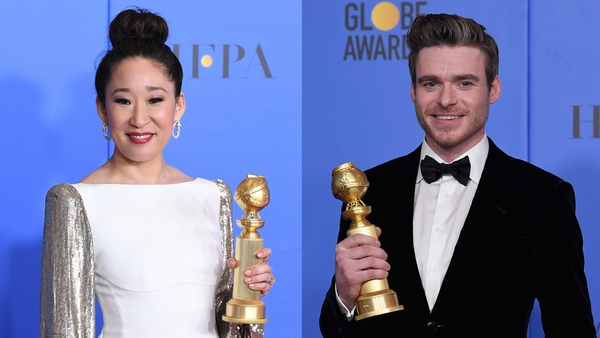 Sandra Oh and Richard Madden were among this year's Golden Globe winners