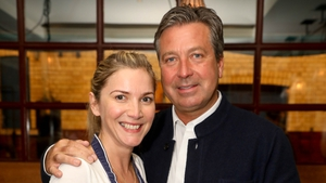"""Lisa Faulkner with John Torode - """"My gorgeous John completely surprised me on Christmas Day and asked me to marry him!"""""""