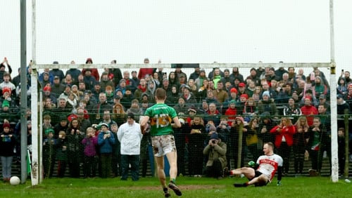 Mayo got the better of Leitrim after a penalty shoot-out