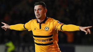 "Padraig Amond: ""Watching Alan Shearer and Ian Wright talking about the game afterwards with Gary Lineker, stuff like that doesn't happen every week."""