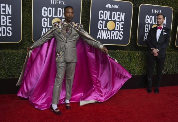 Billy Porter arrives at the 76th annual Golden Globe Awards (Jordan Strauss/AP)