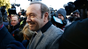 Kevin Spacey, who faces charges from 2016, was met by a media scrum outside court