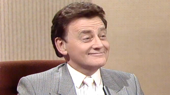 Larry Gogan on The Late Late Show (1987)