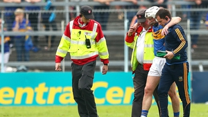 Brendan Maher leaves the field of play at Semple Stadium last June
