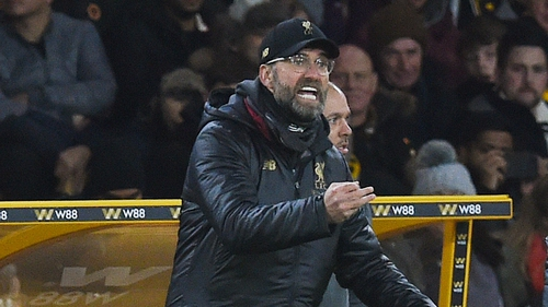 Jurgen Klopp's side are out of the FA Cup