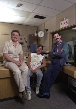 RTÉ Radio 2 (now 2fm) DJs Larry, Jimmy Greeley and Mark Cagney in 1987