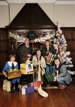 RTÉ Guide Christmas shoot 1983