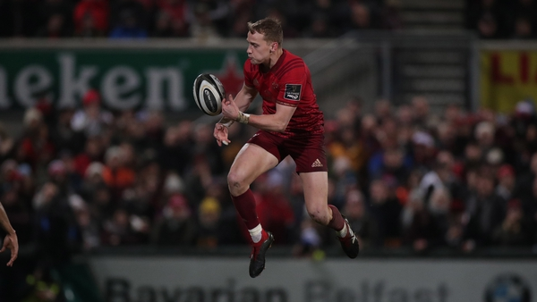 All of Mike Haley's 13 appearances this season for Munster have come as a starter at full-back