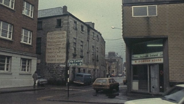 Junction of Courthouse Lane and Flood Street, Galway (1979)
