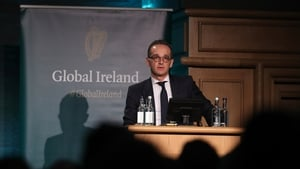 Heiko Maas addressed a conference of Irish ambassadors and diplomatic mission chiefs in Dublin Castle