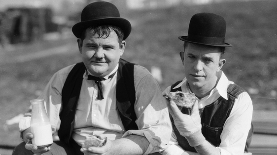 Laurel And Hardy. Getty images 3171747