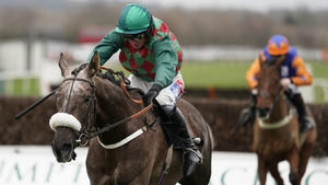Master Dino was heading for a tilt at JLT Novices' Chase