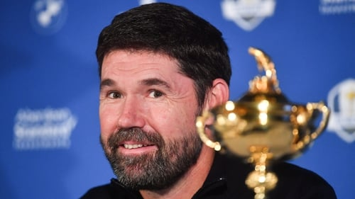 """Padraig Harrington: """"They can't say they're playing another event or they're somewhere else... or want to rest."""""""