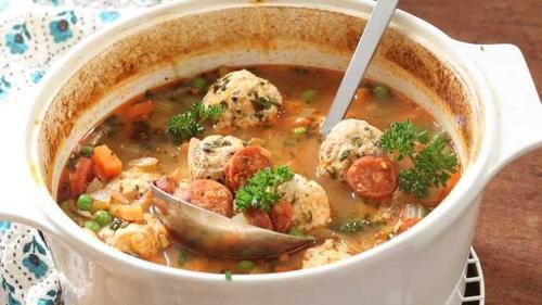 Shane's Turkey, Chorizo & Butterbean Stew