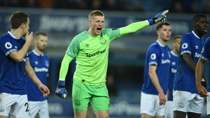 A video has emerged which appears to show Jordan Pickford (centre) at the centre of a brawl