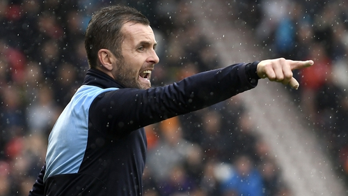 Nathan Jones is in talks to succeed Gary Rowett as Stoke City manager