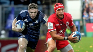 Jordan Larmour and Cheslin Kolbe are likely to be key figures for Leinster and Toulouse