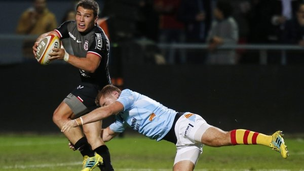 Antoine Dupont is one of the rising stars in the Toulouse team