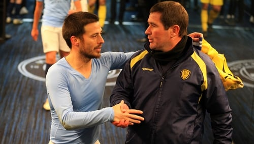 Nigel Clough's side were shown no mercy from Man City