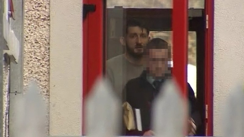 Tomasz Piotrowski (left) was remanded in custody for a week