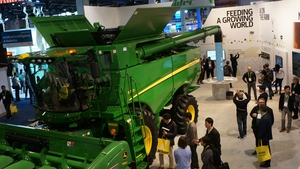 Agriculture giant John Deere is one of the companies new to CES this year