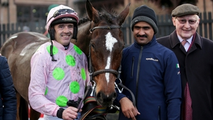Jockey Ruby Walsh after winning on Min