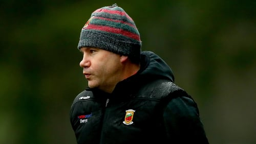James Horan oversaw Mayo's FBD League penalty shootout victory over Leitrim last weekend, his first game since returning to the inter-county scene