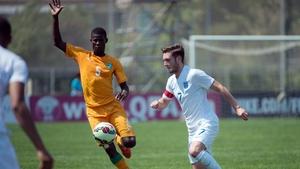 Vakoun Issouf Bayo, left, was a £2m signing Dunajska Streda