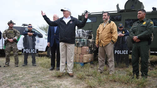 Donald Trump in McAllen, Texas