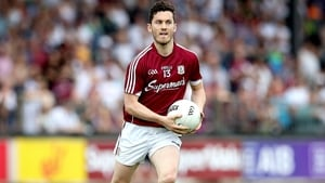 Ian Burke enjoyed a fine year in 2018, which resulted in the Galway man receiving his first All-Star