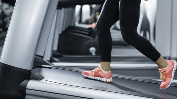 An incline treadmill workout burns more calories and activates more muscles (Thinkstock/PA)
