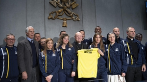 There are more than 60 members of Vatican Athletics so far