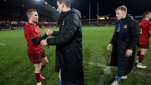 Sexton last played against Munster on 29 December