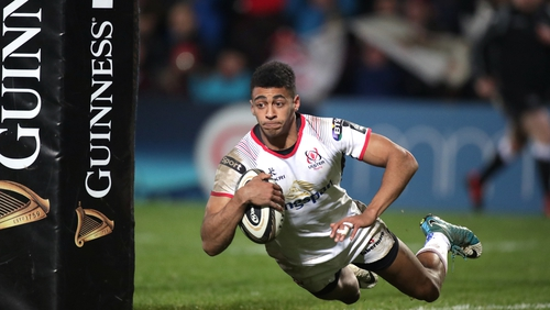 Academy winger Robert Baloucoune made his debut against Dragons last October